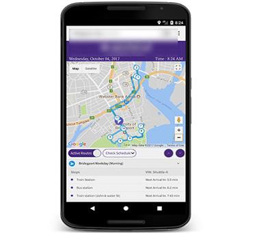 University Transit App